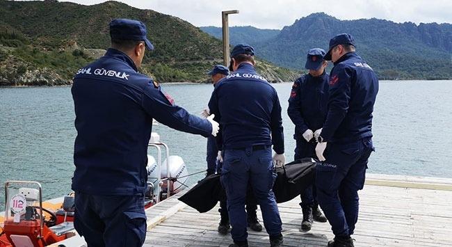 Muğlada denize açıldıktan sonra haber alınamayan kişinin cesedi bulundu