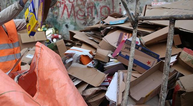 Ankarada kağıt toplayıcılığı yasaklandı