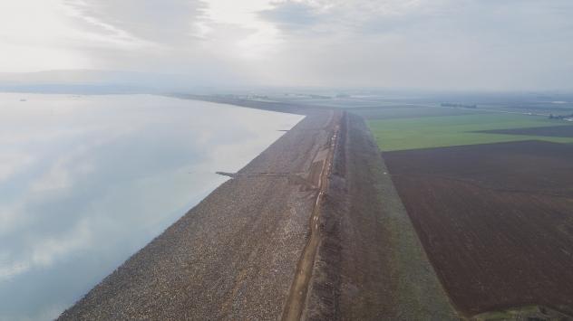 Reyhanlı Barajının altıda biri doldu