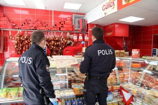 Sivasta polise sucuk sipariş eden 92 yaşındaki adamın isteği yerine getirildi