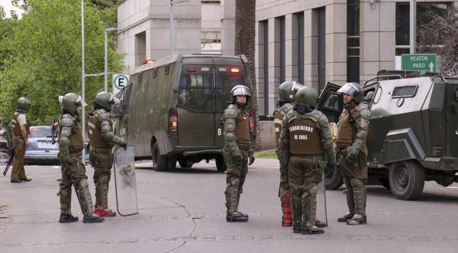 Şilide sokağa çıkma yasağı başladı
