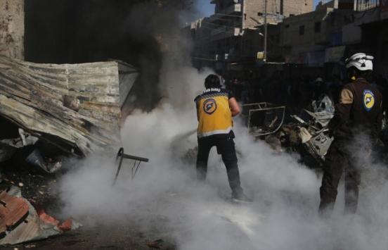 Suriyenin kuzeyindeki Babda terör saldırısı