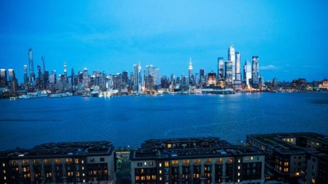 New York'ta hayat durdu