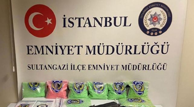 İstanbulda operasyon: 60 bin uyuşturucu hap ele geçirildi