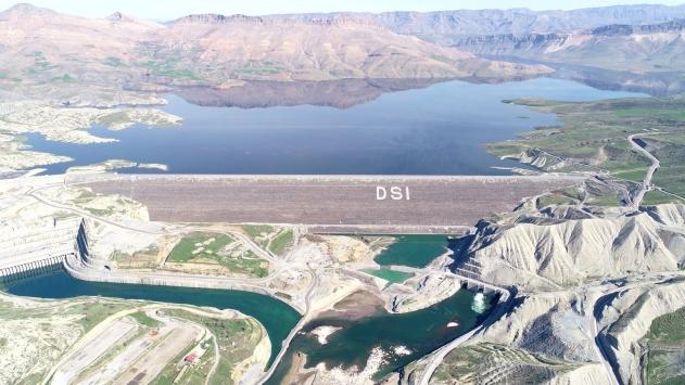 Ilısu Barajında su seviyesi 93 metreye ulaştı