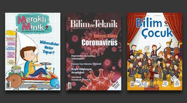 TÜBİTAK dergilerine nasıl ulaşılır? TÜBİTAK dergileri ücretsiz oldu...