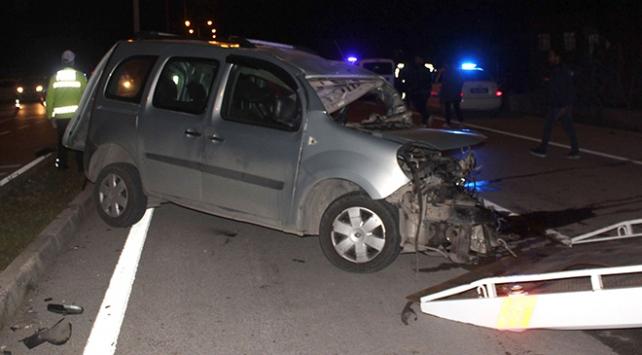 Osmaniyede kaza: 1 ölü, 5 yaralı