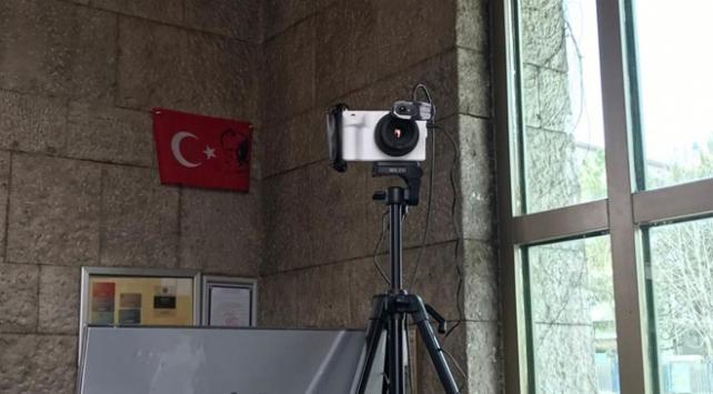 TBMMde termal kamera uygulamasına başlandı