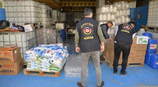 Adanada koronavirüs fırsatçılarına operasyon