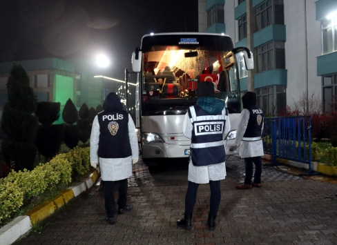 Yurt dışından gelen 226 kişi, Sakaryada öğrenci yurduna yerleştirildi