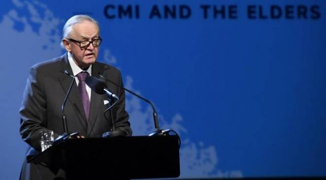 Finlandiya Eski Cumhurbaşkanı Ahtisaari koronavirüse yakalandı