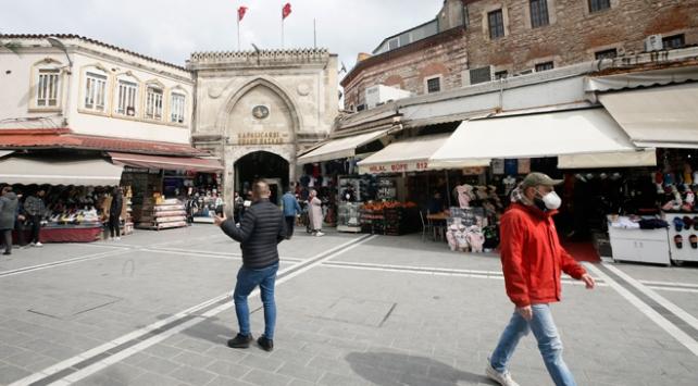 İstanbulda tarihi çarşılar kapatıldı