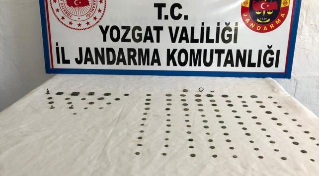 Yozgatta 122 parça tarihi eser ele geçirildi