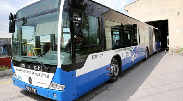 Ankarada toplu taşıma araçlarının kullanımı yüzde 80 azadı