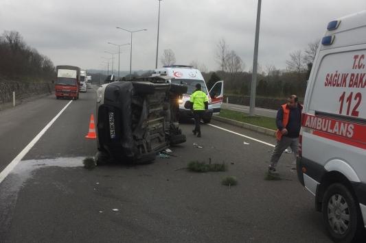 Orduda trafik kazasında 3 kişi yaralandı