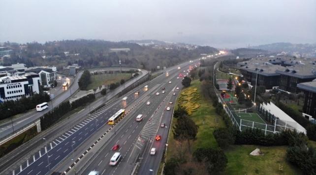 İstanbul trafiği yüzde 13e kadar düştü