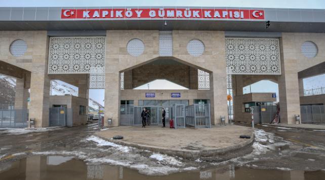 Kapıköy Kara Hudut Kapısı geçici olarak kapatıldı