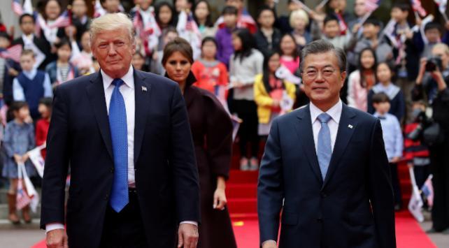 Trump Güney Koreden medikal kit talep etti