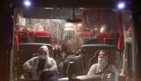 İsveç'ten gelen Türkler öğrenci yurduna yerleştirildi