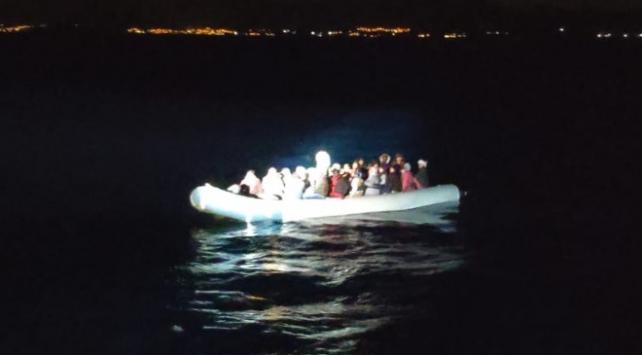 İzmirde 79 sığınmacı kurtarıldı