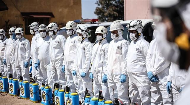 İdlibde kısıtlı imkanlarla koronavirüse karşı tedbir alınıyor