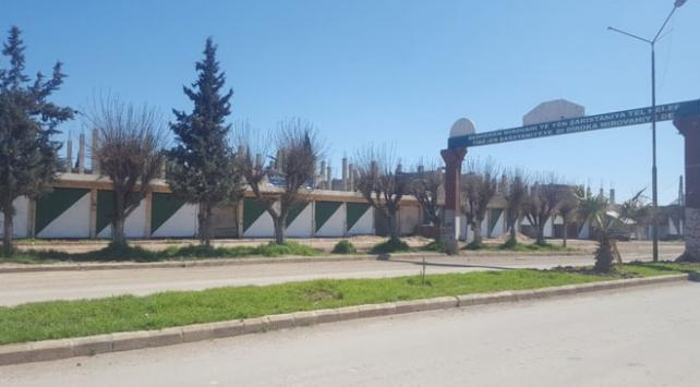 Barış Pınarı Harekatı bölgesinde dezenfeksiyon işlemi