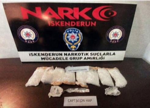 Hatayda uyuşturucu operasyonu: 4 gözaltı