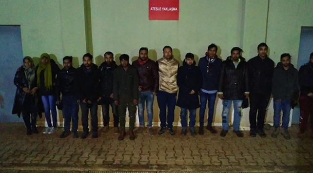 10 günde 3 bin 541  kaçak yakalandı