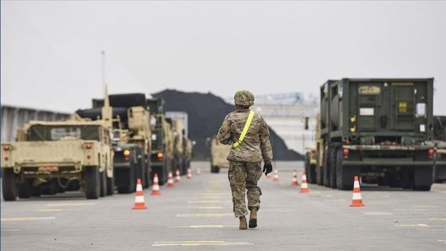 ABD ordusundaki Covid-19 vaka sayısı 415e yükseldi