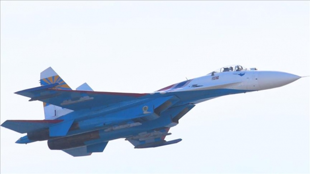 Karadenizde Rus savaş uçağı düştü