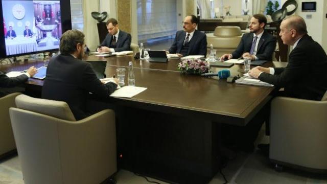 Cumhurbaşkanı Erdoğan, Koronavirüs Bilim Kurulu Toplantısına katıldı