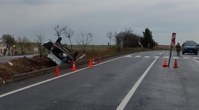 Şanlıurfada otomobil devrildi: 8 yaralı