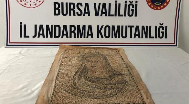Bursada tarihi eser operasyonu: 5 gözaltı