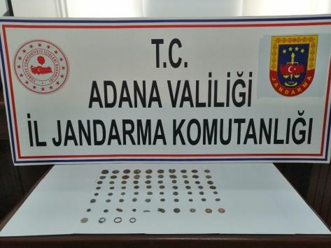 Adanada tarihi eser kaçakçılığı iddiasıyla bir şüpheli yakalandı