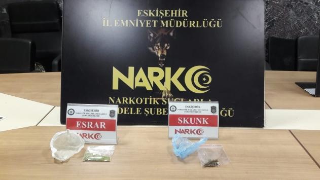 Eskişehirde uyuşturucu operasyonunda 4 şüpheli yakalandı