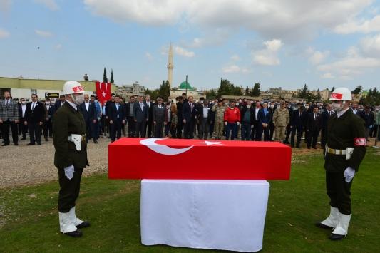 Irakta şehit olan Piyade Uzman Çavuş İsmail Karataş son yolculuğuna uğurlandı