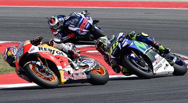 MotoGPde heyecan San Marinoda devam edecek