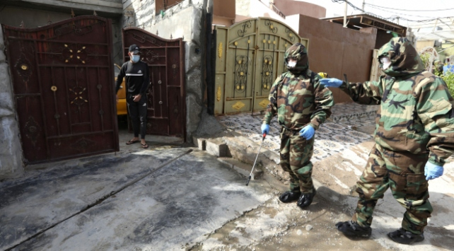 Irakta koronavirüsten ölenlerin sayısı 36ya çıktı