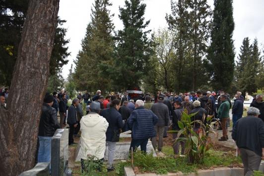 Muğlada denizde kaybolduktan sonra cesedi bulunan kişinin cenazesi defnedildi