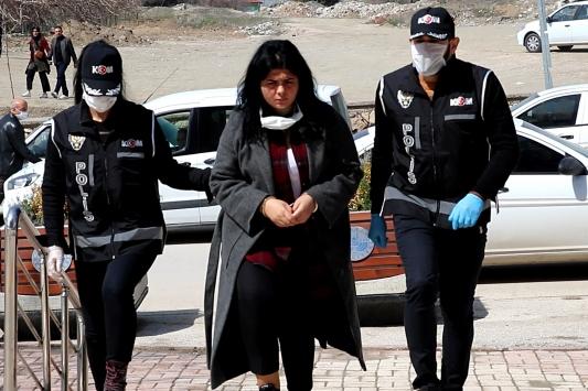 Kendisini avukat, hakim olarak tanıtıp dolandırıcılık yapan kadın şüpheli tutuklandı