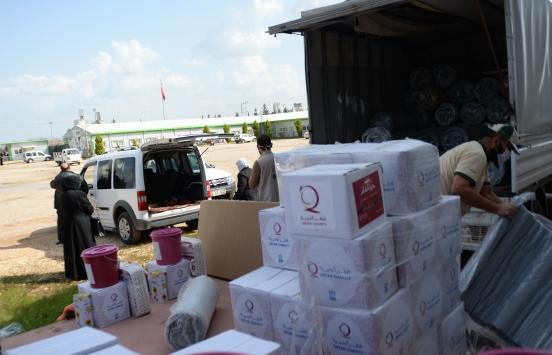 Katarlı hayırseverlerden Kilisteki Suriyelilere yardım