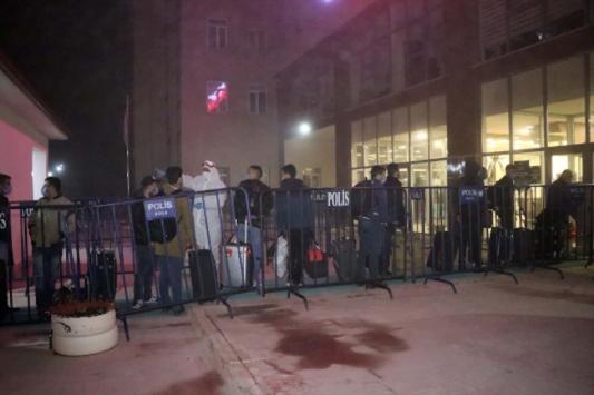 Yurt dışından gelen 130 kişi Boluda yurda yerleştirildi