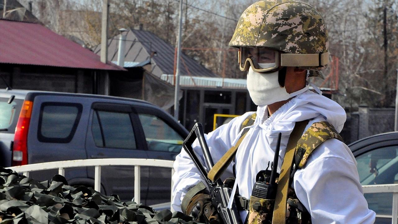 Kırgızistanda Covid-19 önlemleri
