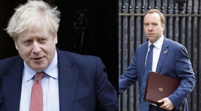 İngilterede Başbakan ve Sağlık Bakanına da bulaştı