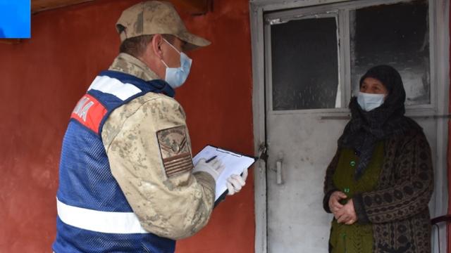 Vefa ekipleri köylerde de görevde
