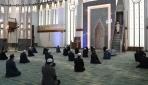 Beştepe Millet Camiinde kısıtlı cuma namazı