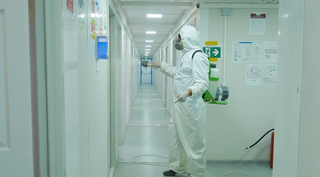 Akkuyu NGSden koronavirüs önlemleri: Salgınla Mücadele Merkezi kuruldu