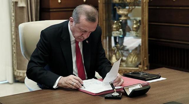 Cumhurbaşkanı Erdoğandan yeni atama kararları