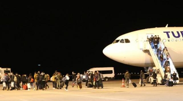 Yurt dışından getirilen vatandaşlar karantinaya alındı