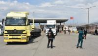 Habur Sınır Kapısı'nda 'temassız' ticaret dönemi